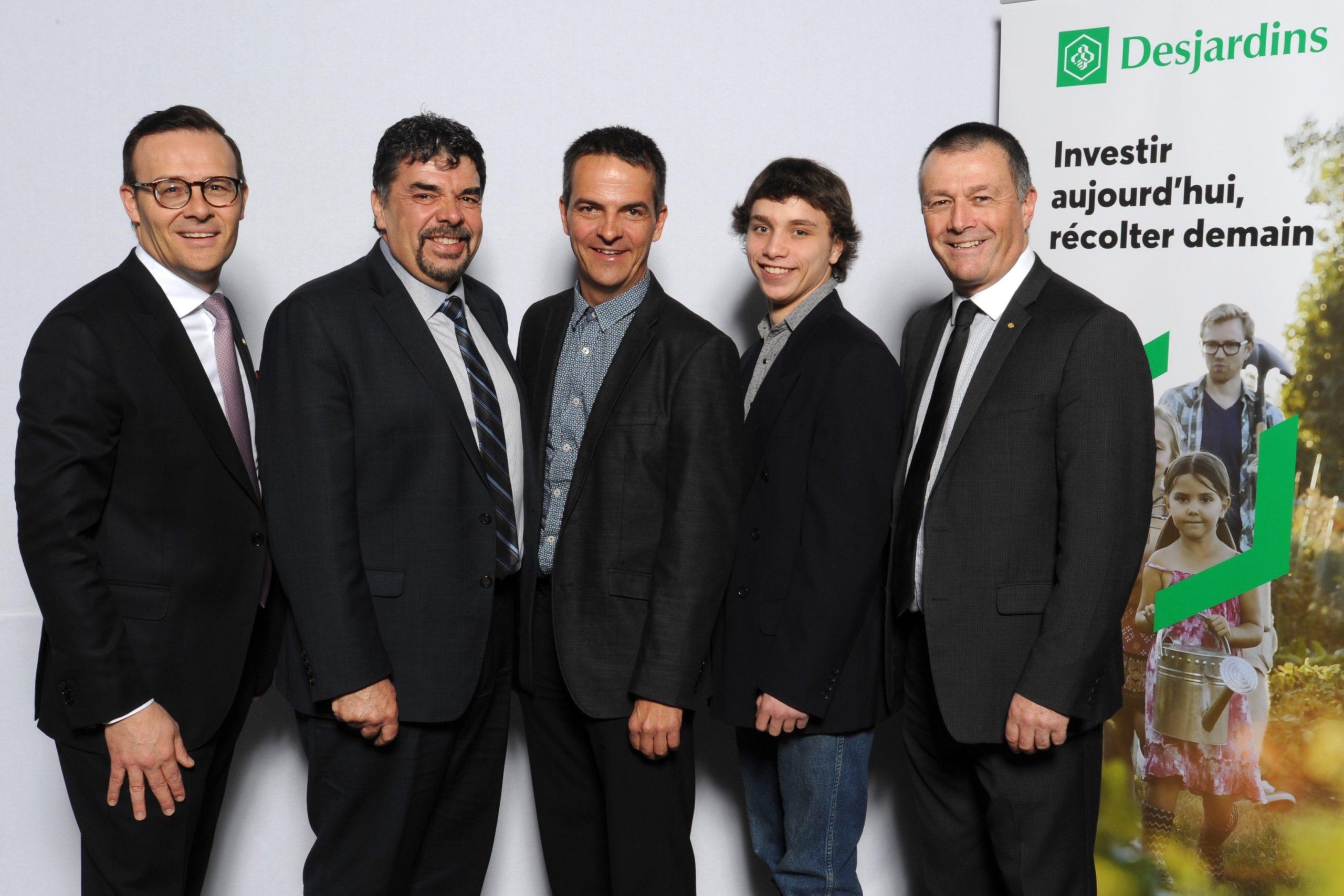 Le CFER de Beauce reçoit un investissement de 207 750$ de Desjardins.