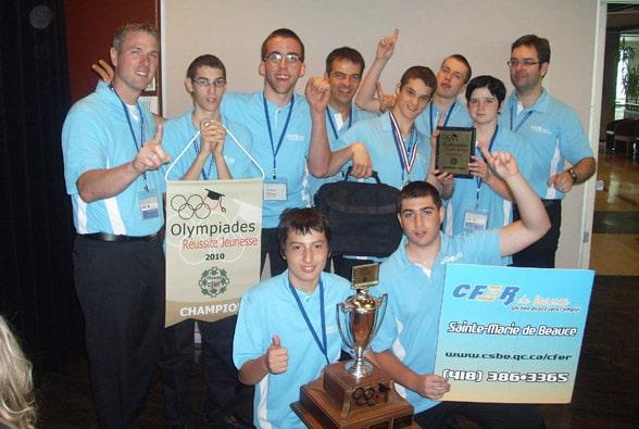 Le CFER de Beauce : champion provincial pour une 2e année consécutive